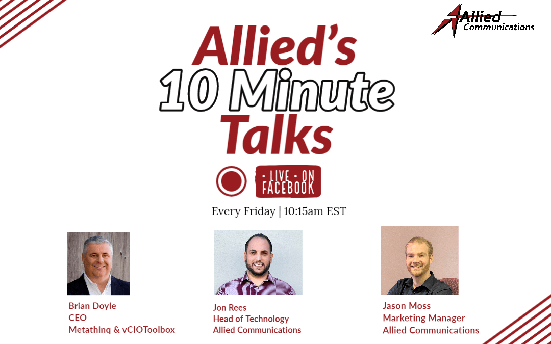 Allied's 10 Minute Talks – CCaaS Workforce Management