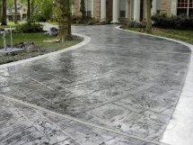 Stamped Concrete Driveway Design Ideas