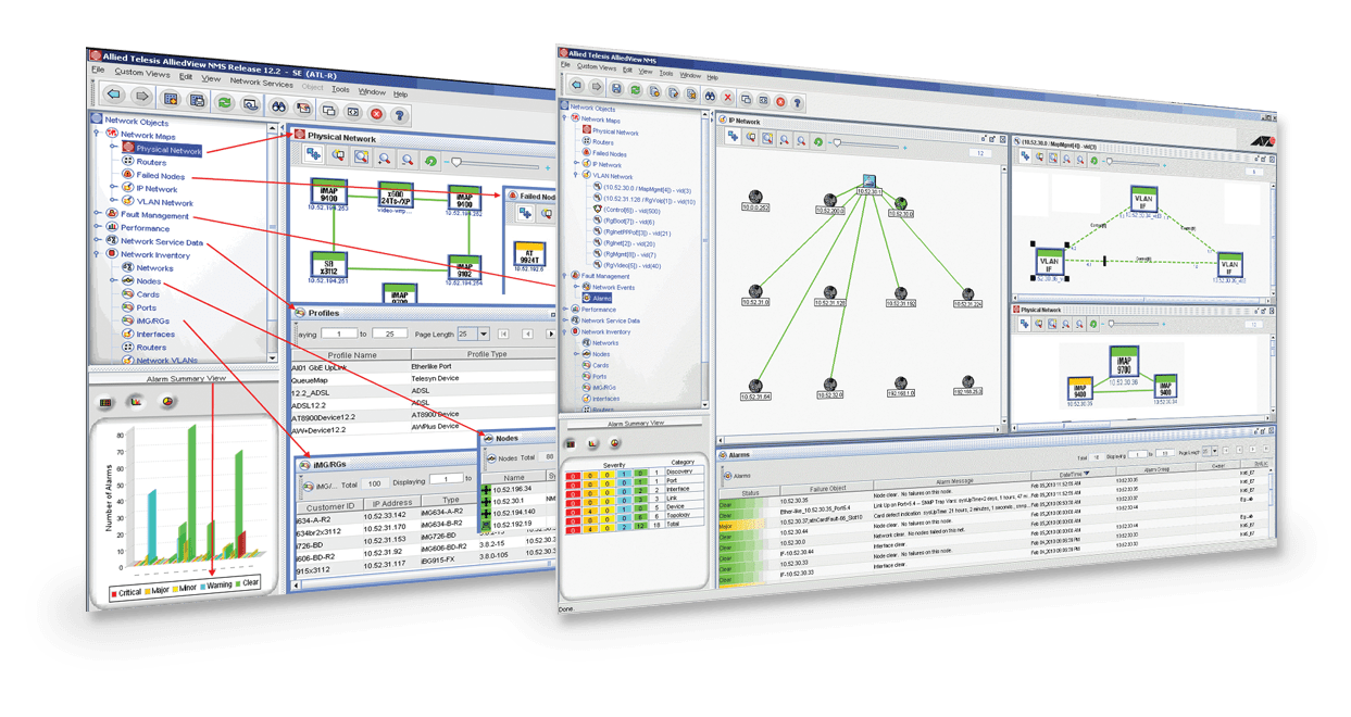 AlliedView NMS A fullyfeatured network management system