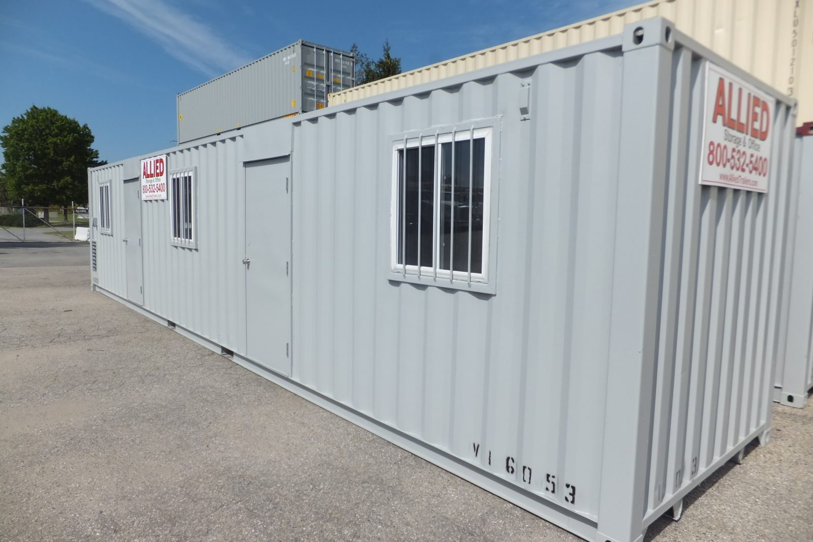 Allied Storage offers durable high-quality and affordable office containers for both temporary and permanent office space solutions. & Office Container Rentals u0026 Sales | Allied Trailers - Baltimore ...