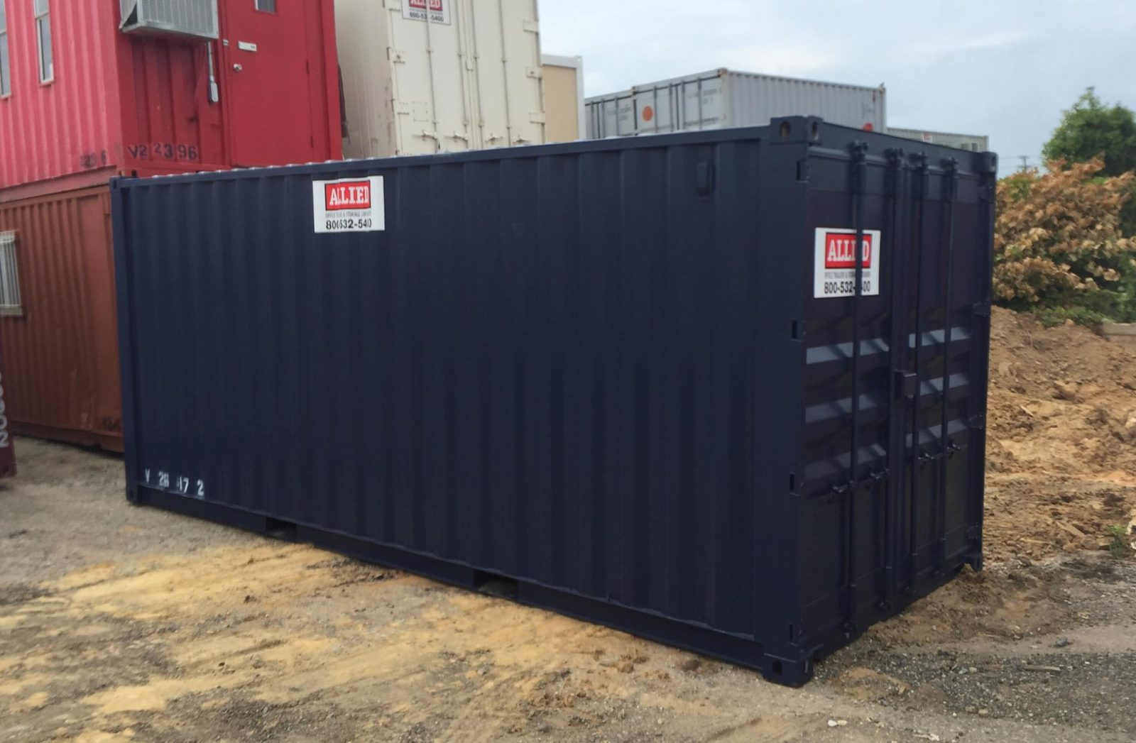 Storage Containers Allied Trailers
