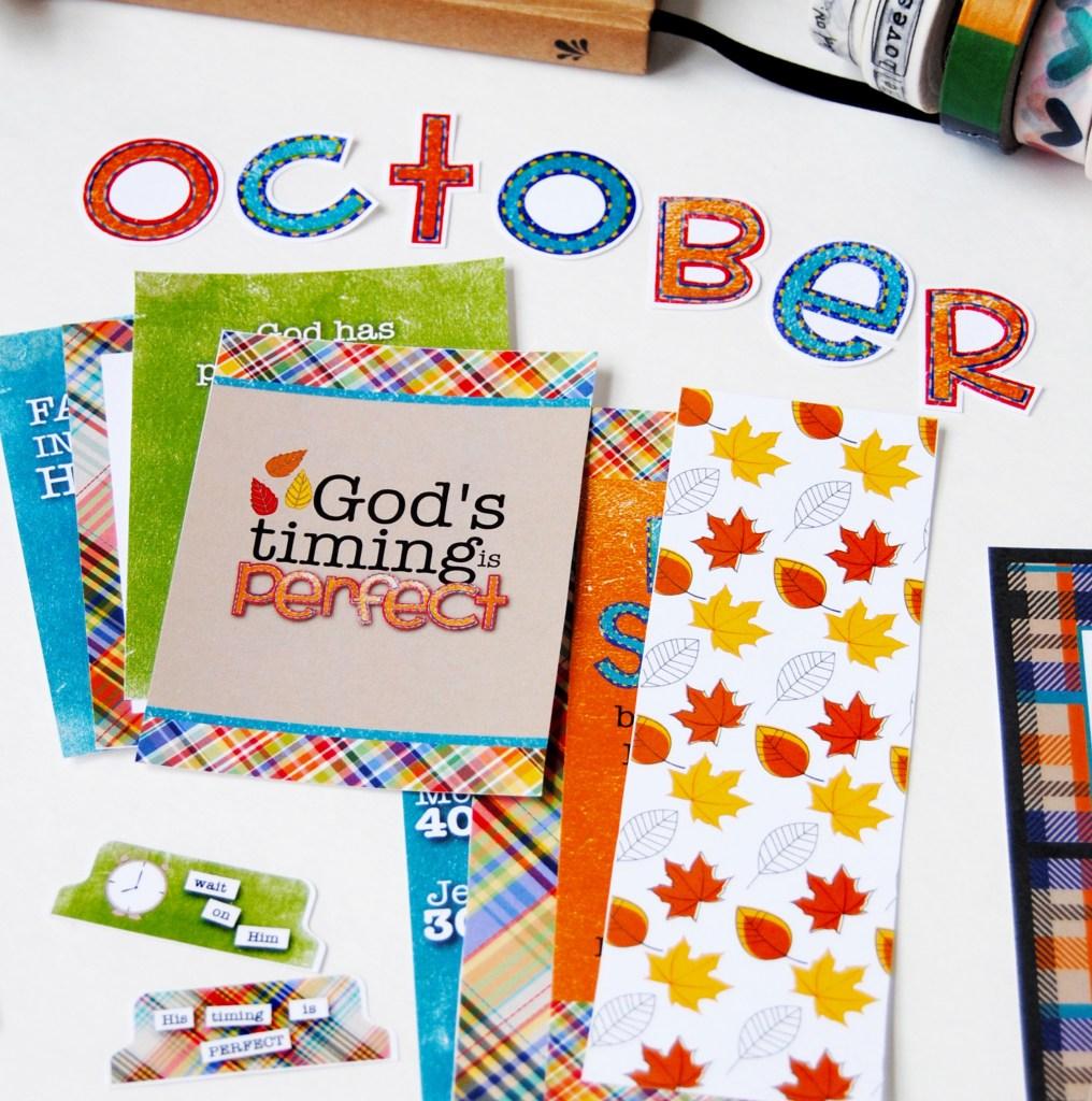 Illustrated Faith Allie Scraps October