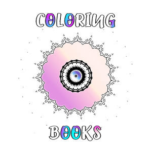 Coloring books by Allie Vane