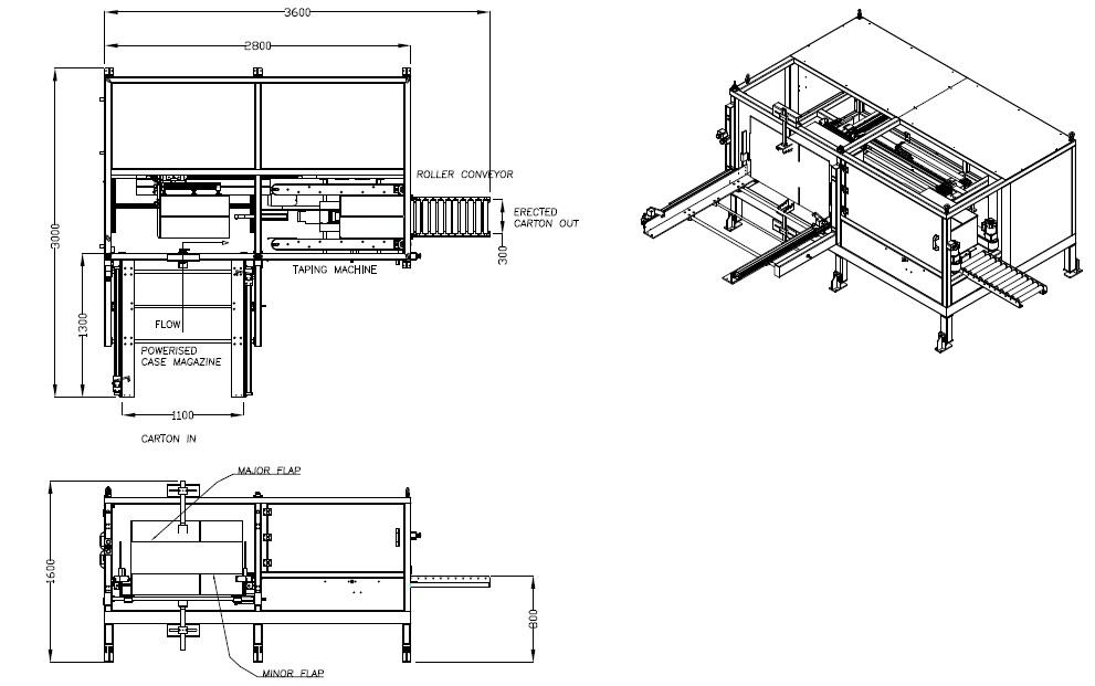 Automatic Carton Erector Manufacturer, Supplier Exporter