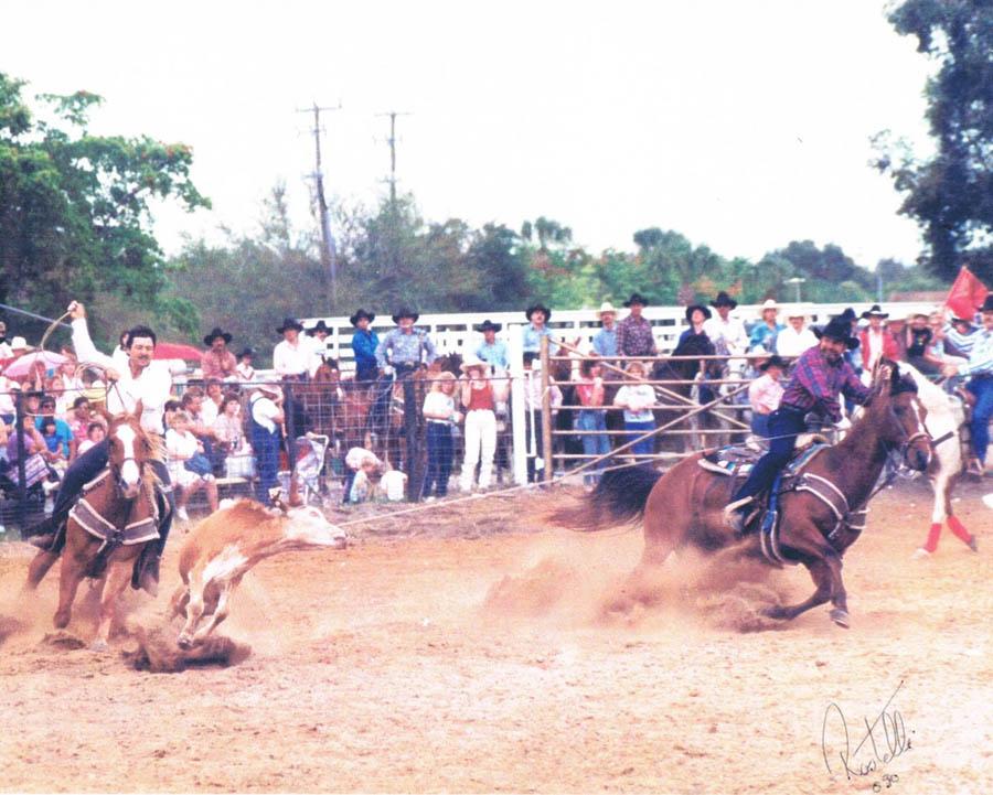 Bergeron Rodeo Grounds Alligator Ron Bergeron