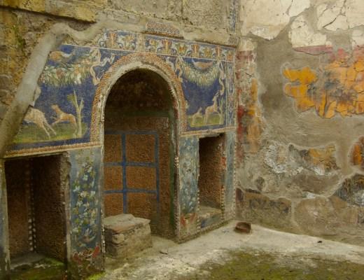 fresco Hercolaneum citroenen