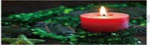 allin pillar candle