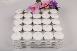 White Tealight Candle