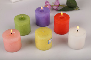 Color Pillar Candles