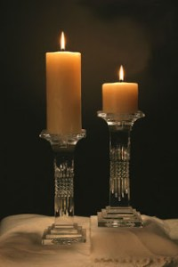 Romantic Dinner Candle