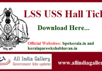 LSS USS Hall Ticket