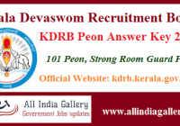 KDRB Peon Answer Key
