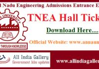 TNEA Hall Ticket