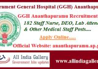 GGH Ananthapuramu Recruitment 2020