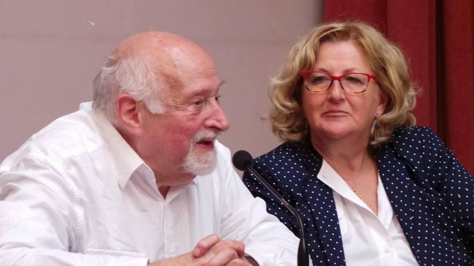 Mario Fratti e Lucilla Sergiacomo