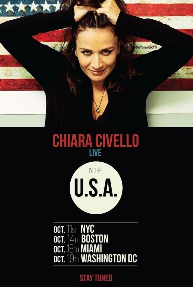 Chiara Civello Tour Flyer