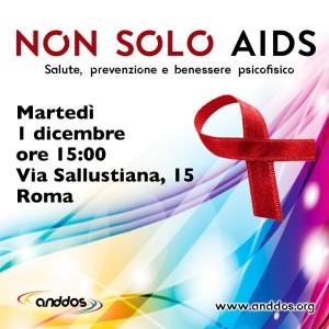 locandina CONVEGNO 1 Dicembre Non solo Aids