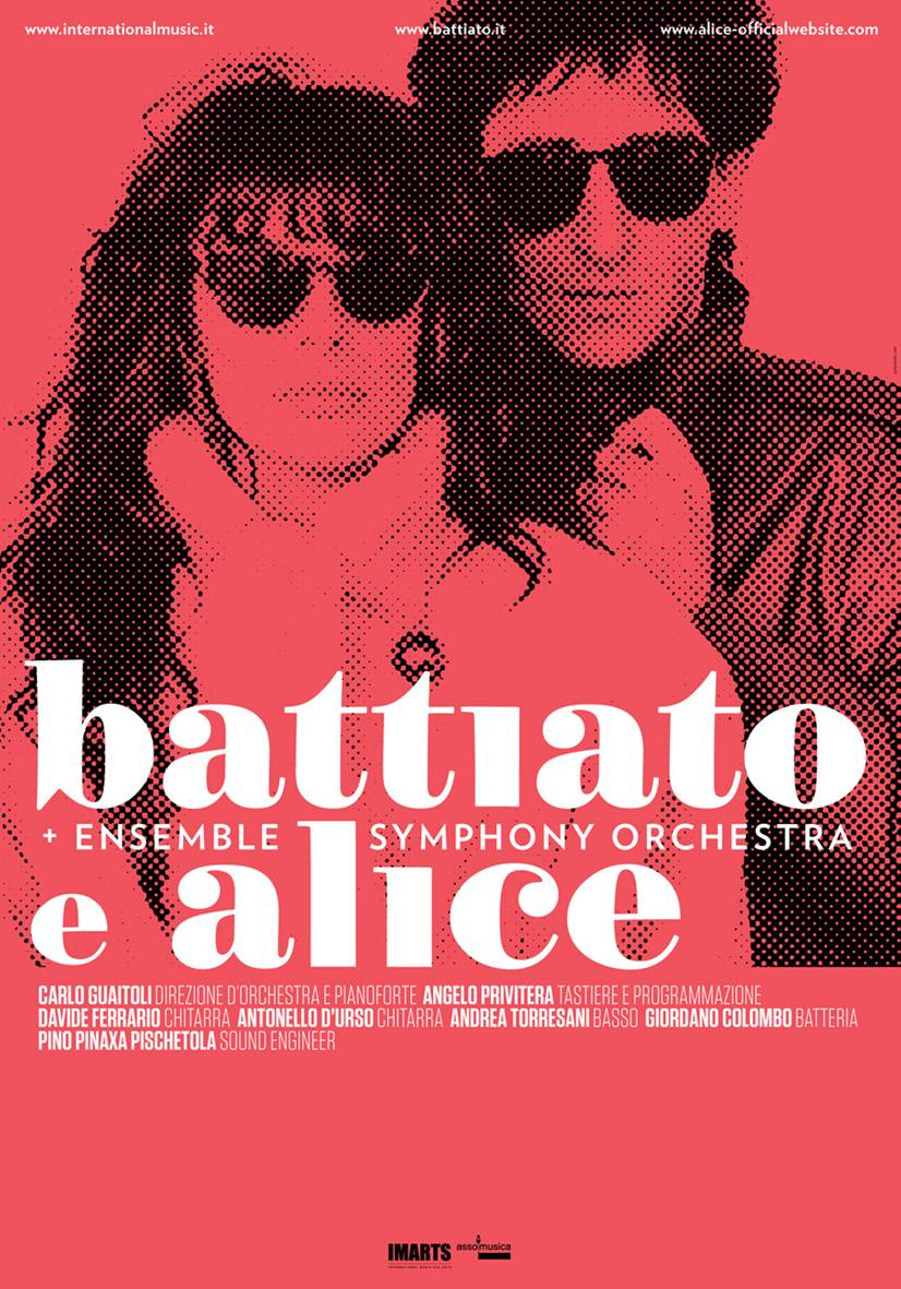 Battiato e Alice poster tour