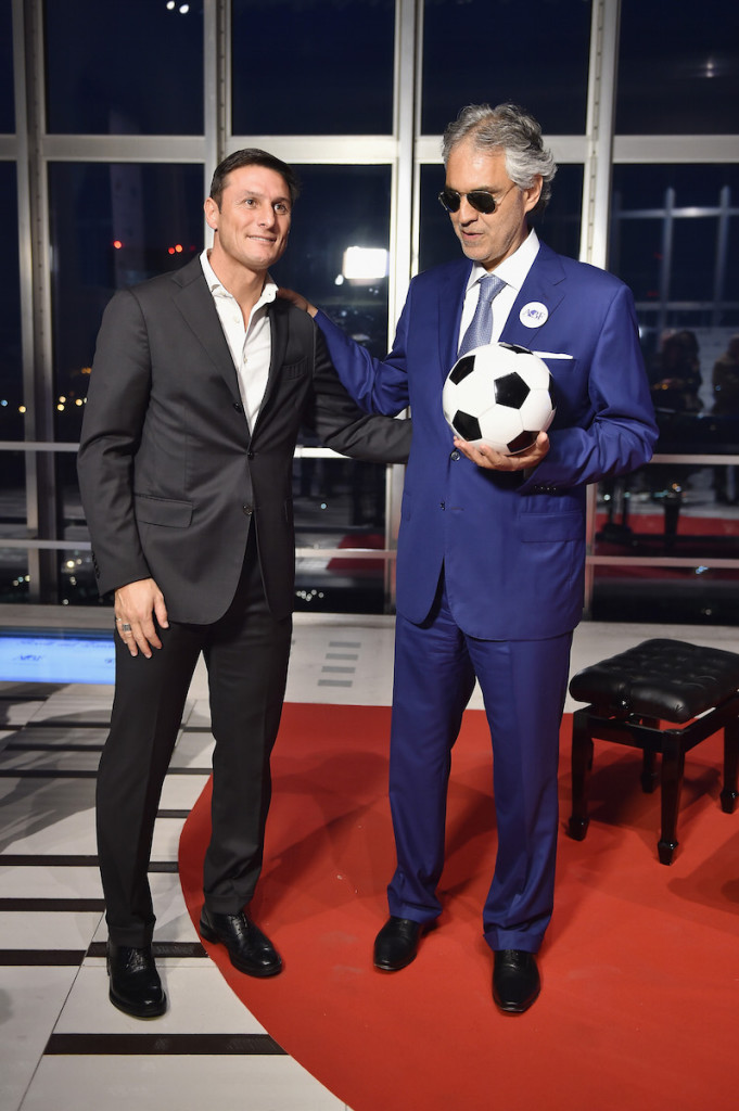 """'Bocelli And Zanetti Night' Presentation"""
