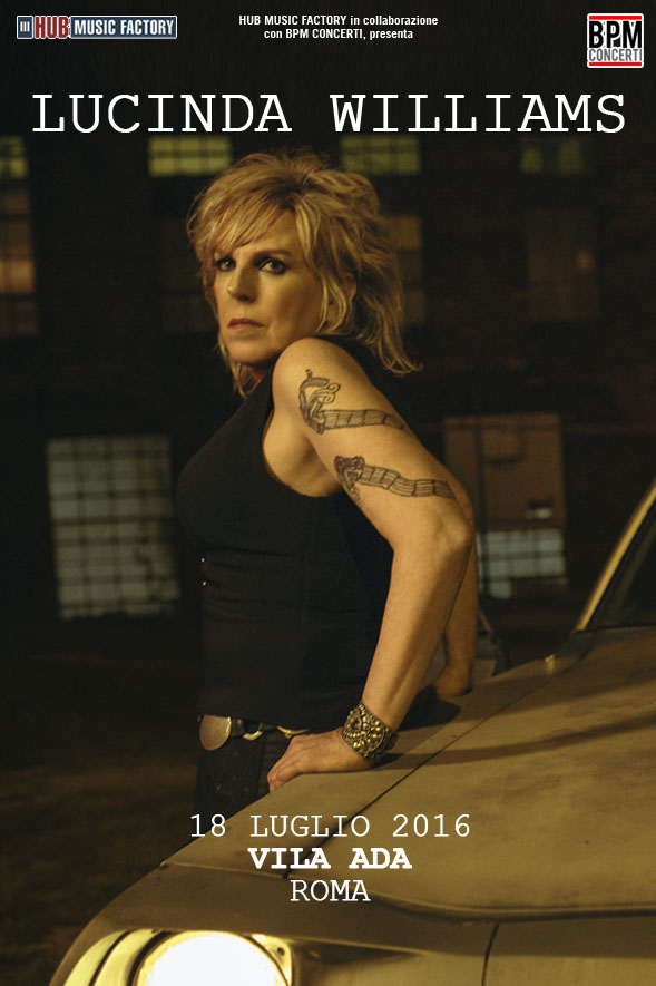 Lucinda Williams_live a Roma