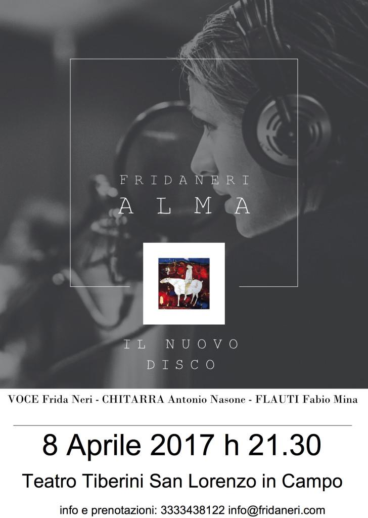 ALMA Fridaneri LOCANDINA (8 aprile)