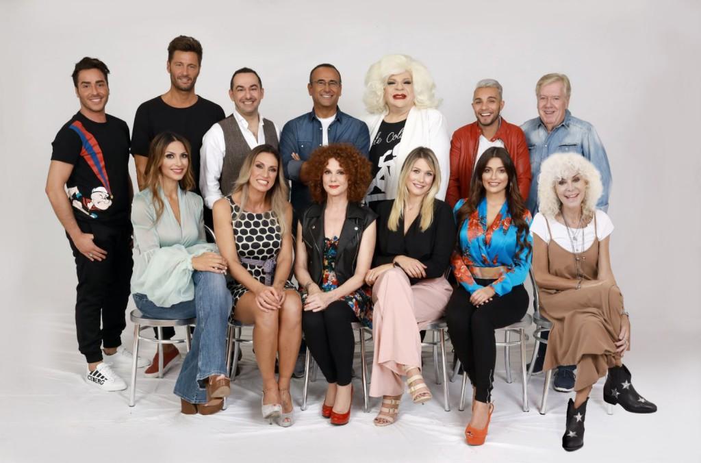 Tale e Quale Show_il cast