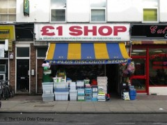 Pound Shop. 28 Chatsworth Road. London - Discount Shops near Homerton Tube & Rail Station
