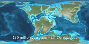 Early Cretaceous ~ 130 mya