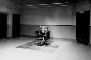 The Electric Chair, Sing Sing Prison, 1953
