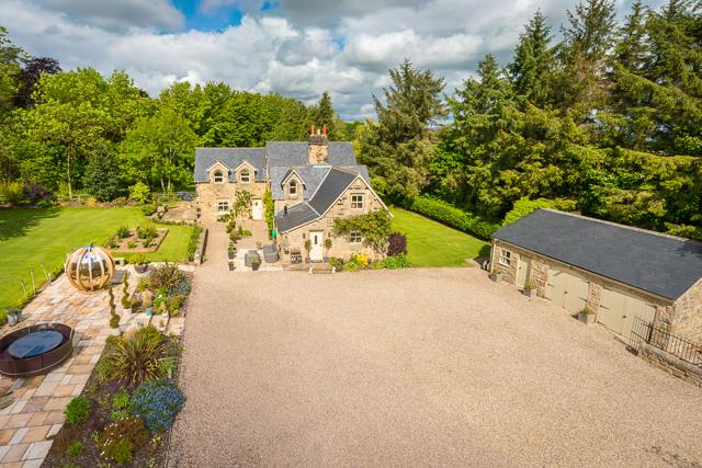Elevated photography for estate agents