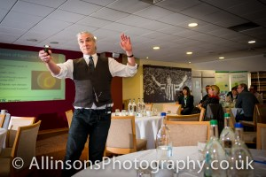 Newcastle Event Photographer captures guest speaker in action