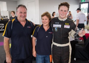 Toyota Racing Series 2016 Leitch family