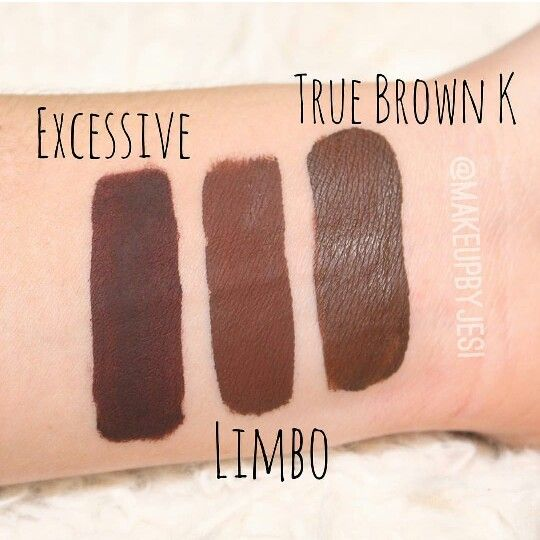 kylie cosmetics true brown k liquid