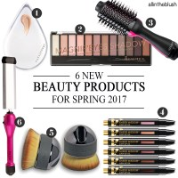 6 New Beauty Products You Need for Spring 2017