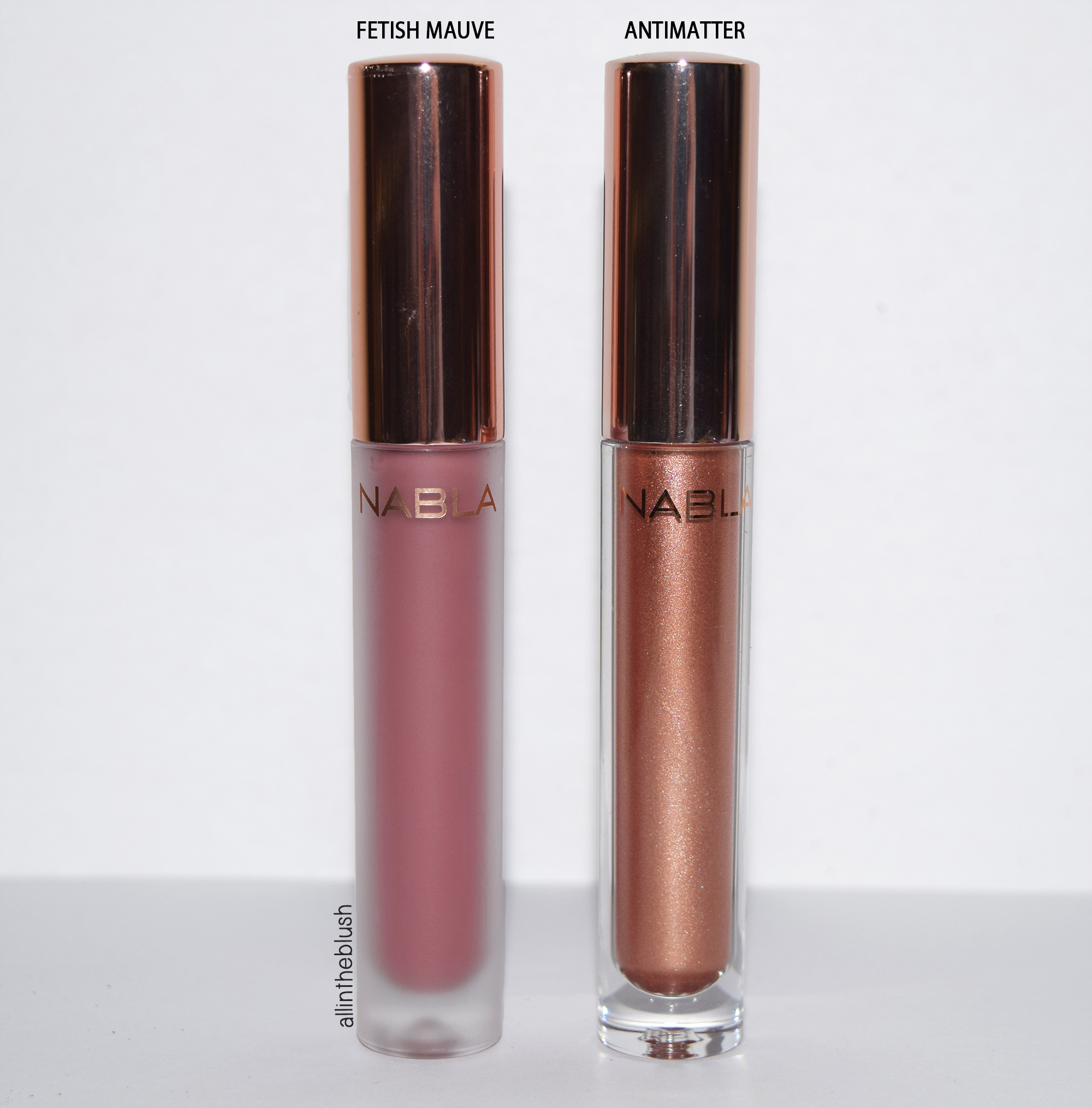 Nabla Freedomination Liquid Matte Dreamy Lipsticks