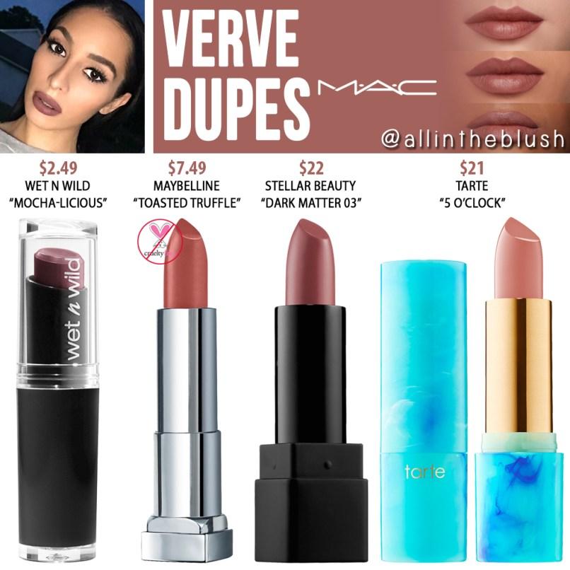 Mac Mocha Lipstick Dupe Wet N Wild   Lipstutorial org