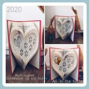 Pawprint in heart Combi Multi