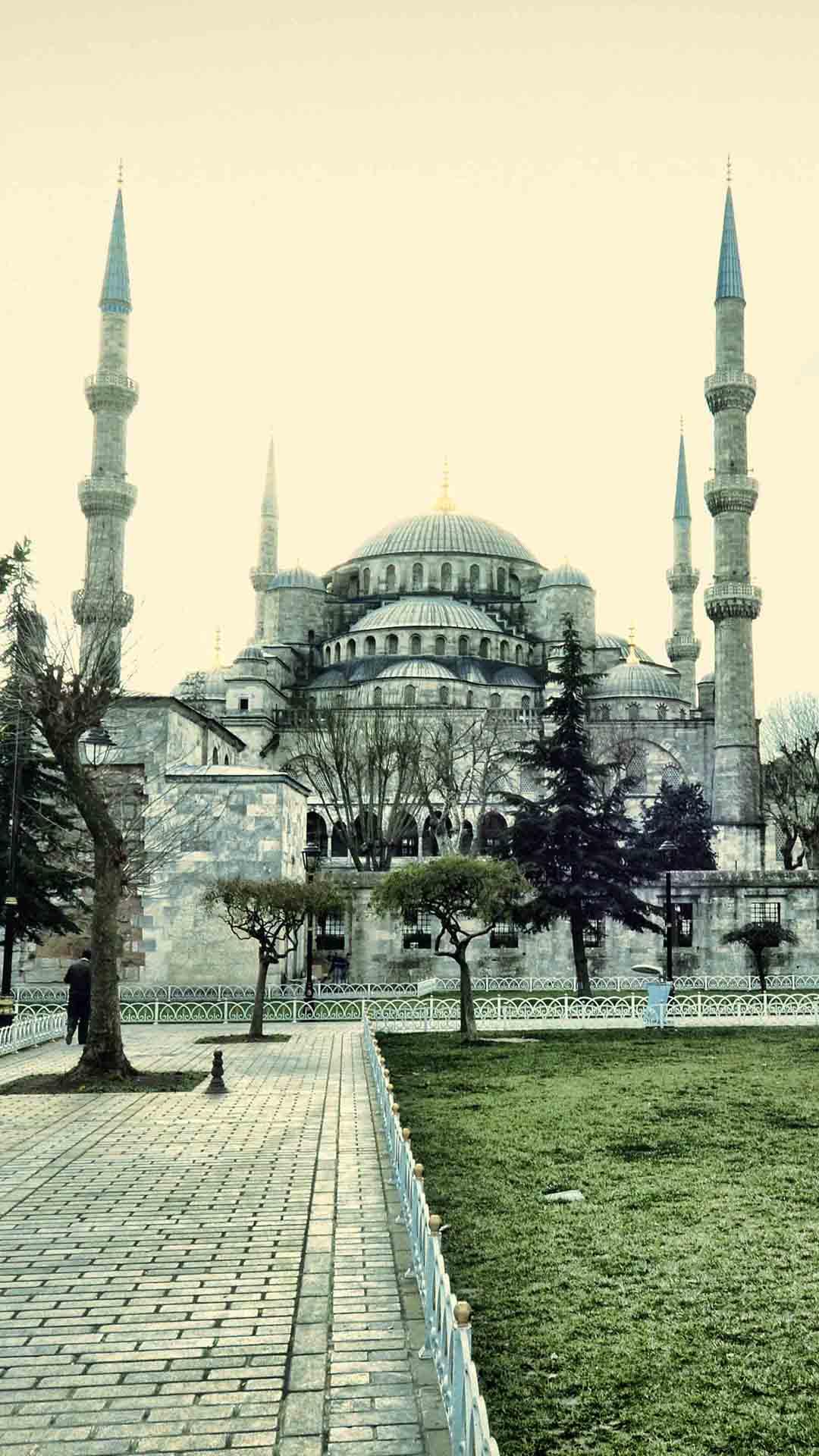 Hong Kong Wallpaper Iphone X Turkey Sultan Ahmed Mosque Iphone Wallpaper Hd