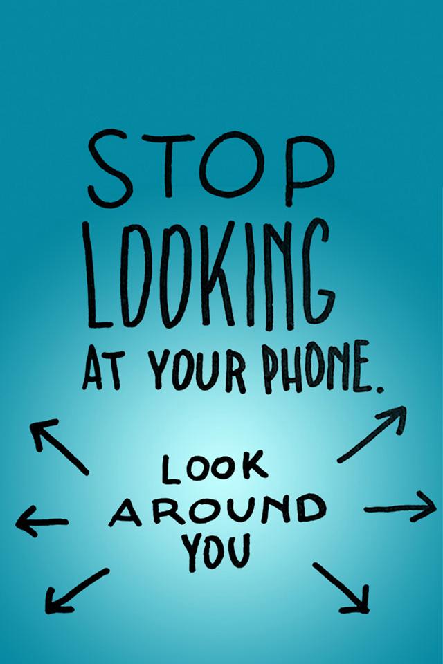 Iphone 5s Lock Screen Wallpaper For Girls Stop Looking Iphone Wallpaper Hd