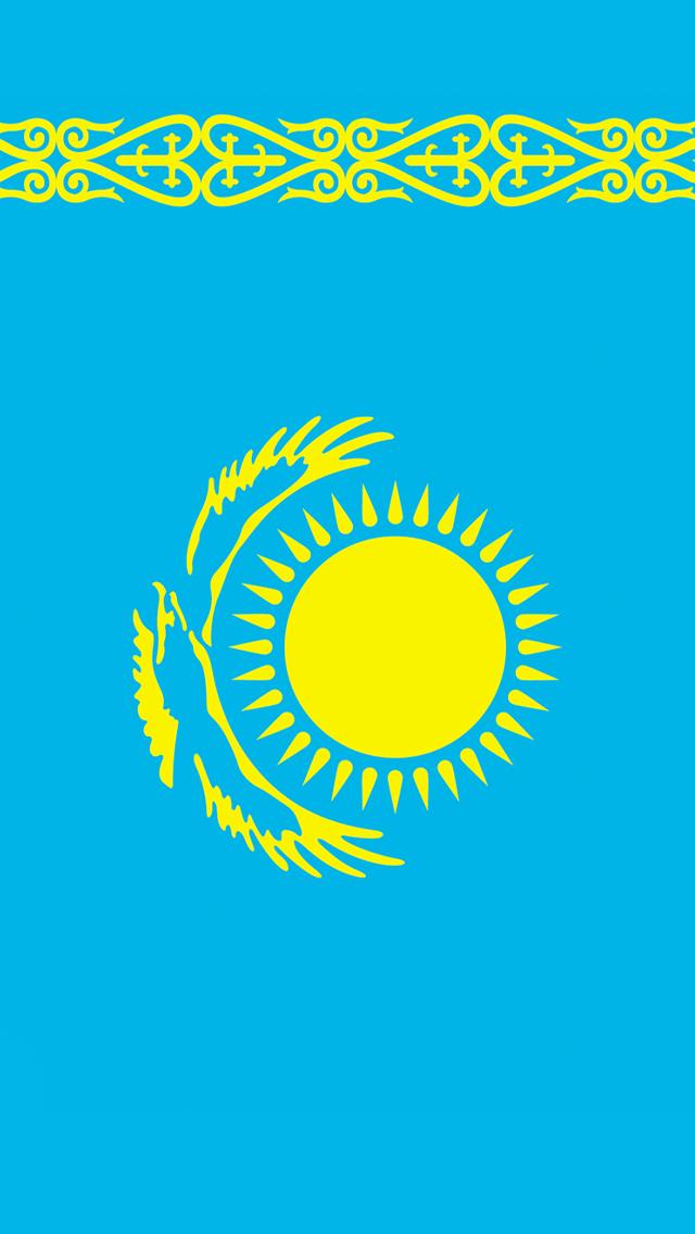 Iphone 6 Shelf Wallpaper Hd Kazakhstan Flag Iphone Wallpaper Hd