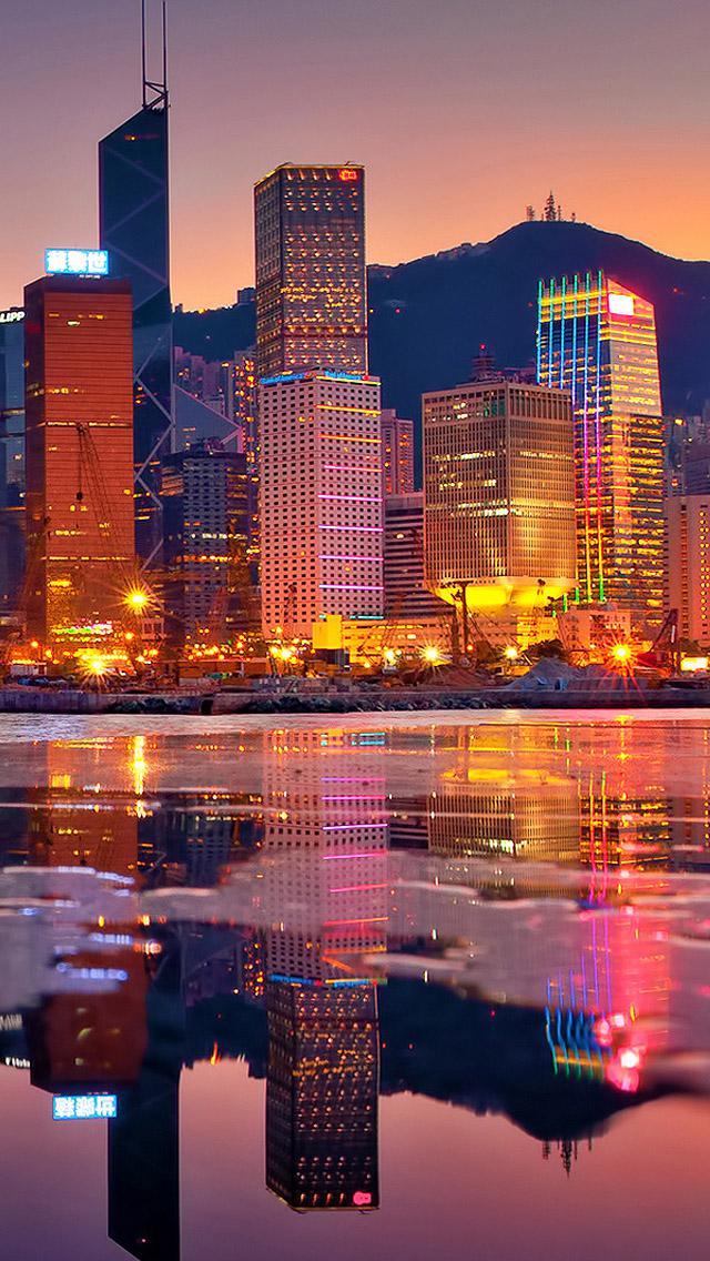 Hong Kong iPhone Wallpaper HD
