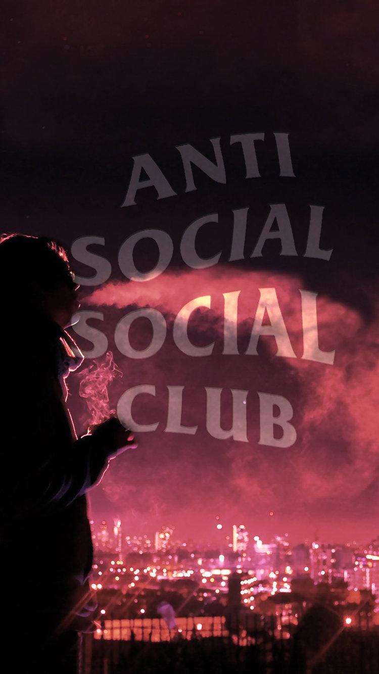 Hd Supreme Wallpaper Iphone X Anti Social Social Club Iphone Wallpaper Hd