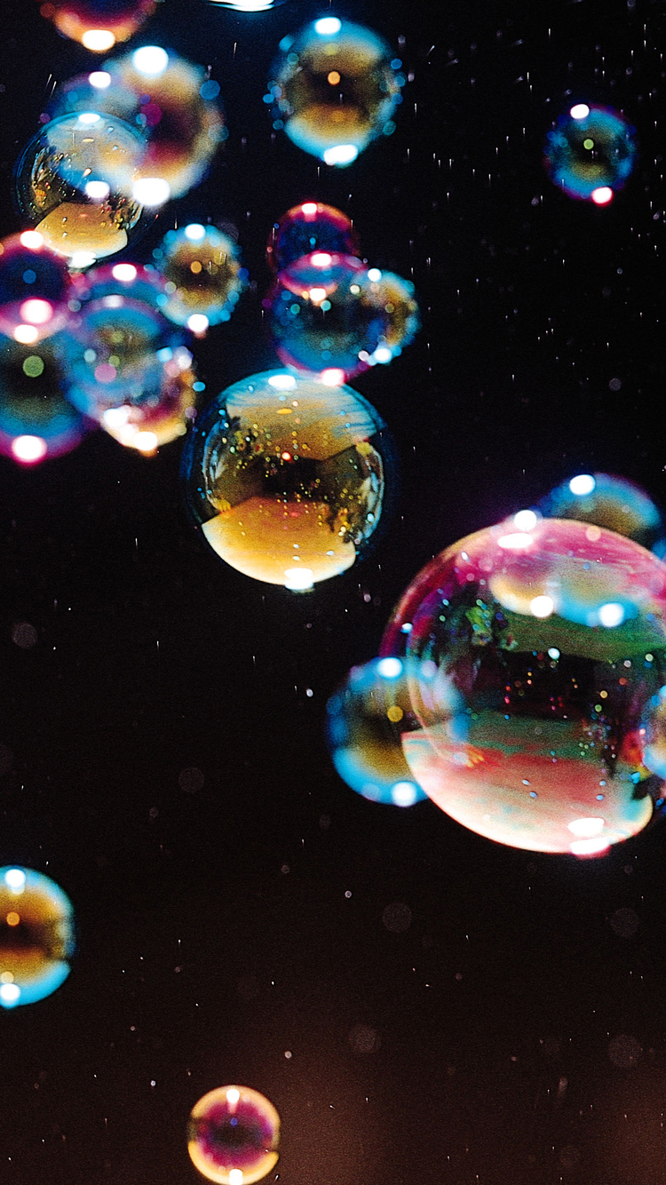 Funny Iphone 4s Wallpapers Bubble Crystal Iphone Wallpaper Hd