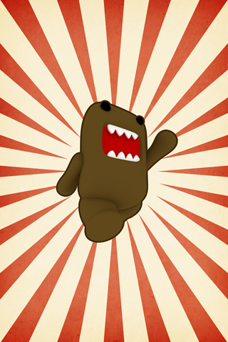 Domo Kun Iphone Wallpaper Domo Kun Ipod Touch Wallpaper Background And Theme