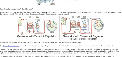 small resolution of generator wiring diagram additionally 3 wire delco alternator wiring