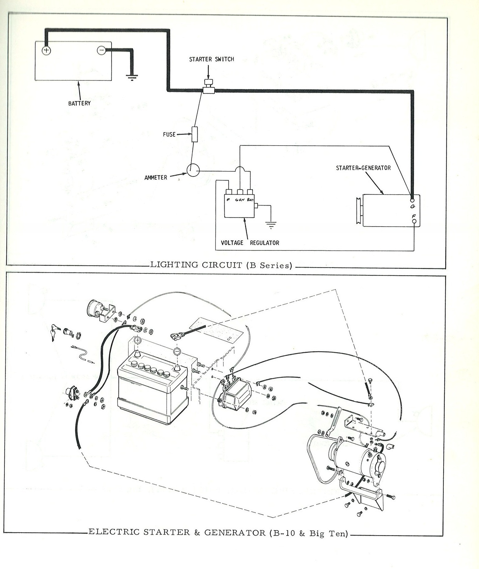 Allis Chalmers C Wiring Diagram Without Lights Schematics Wiring Allis  Chalmers B Implements 1952 Allis Chalmers B Wiring Diagram