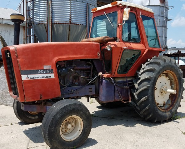 7050 Allis Chalmers Seat - Year of Clean Water