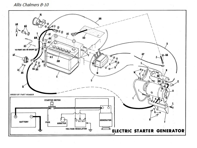 Allis Chalmers Wd 6 Volt Wiring Diagram. . Wiring Diagram