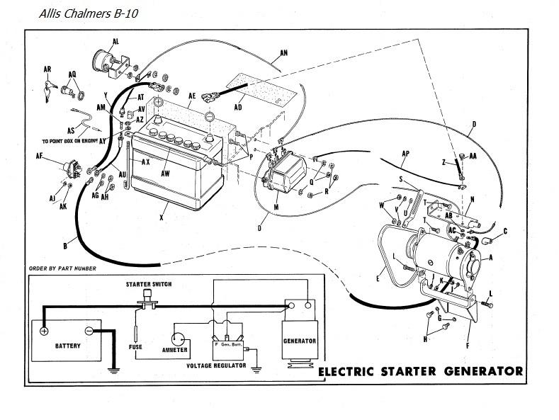 allis chalmers wiring schematic diagram