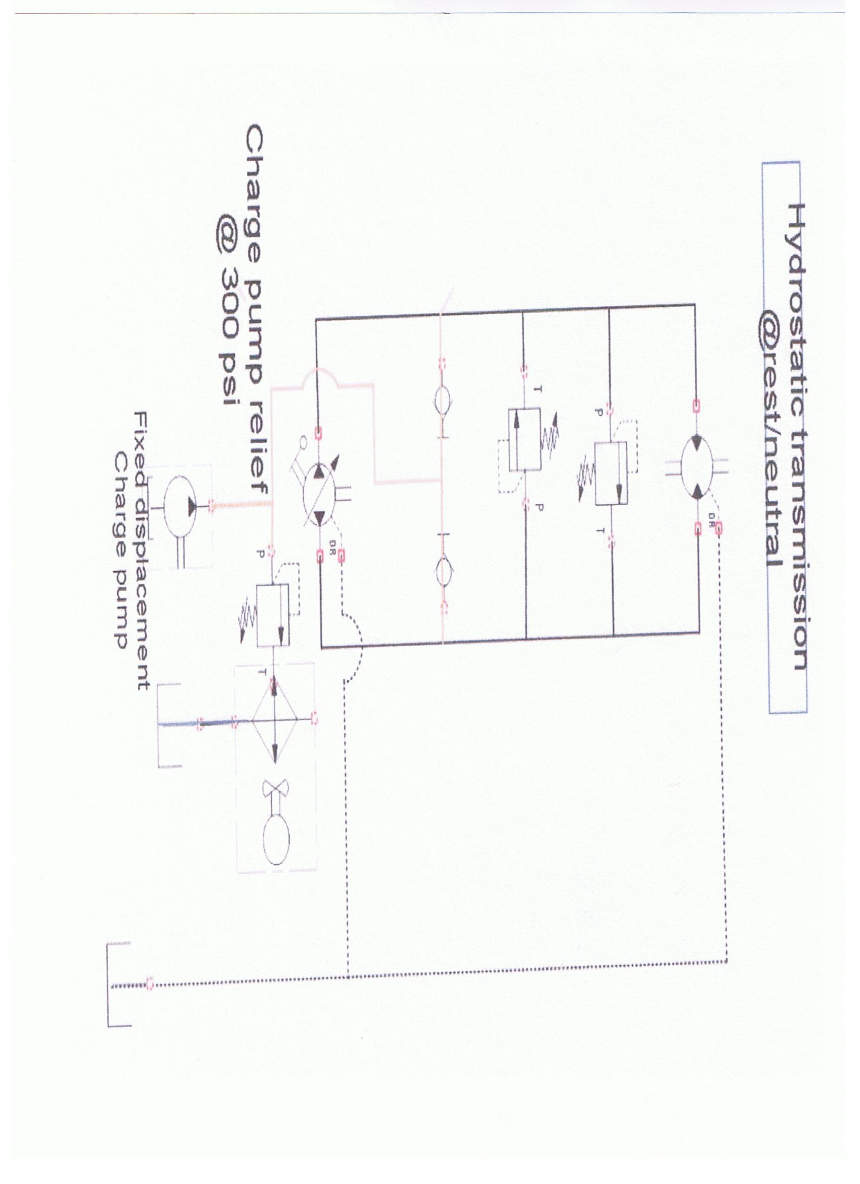 Hydrostatic Transmission Schematic